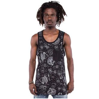 t-shirt uomo IRON FIST - Peace Out Grafico - Nero, IRON FIST