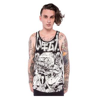 t-shirt uomo IRON FIST - Shinjuku - Grafico - Nero/Bianco, IRON FIST