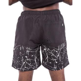 costume da bagno uomo (pantaloncini) IRON FIST - parascolastico - Nero/Bianco, IRON FIST