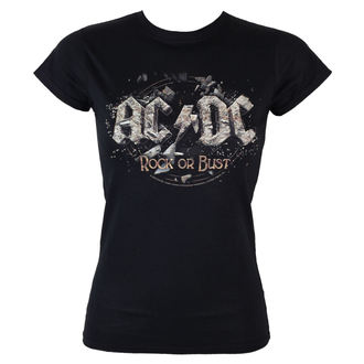 t-shirt metal donna AC-DC - - LOW FREQUENCY, LOW FREQUENCY, AC-DC