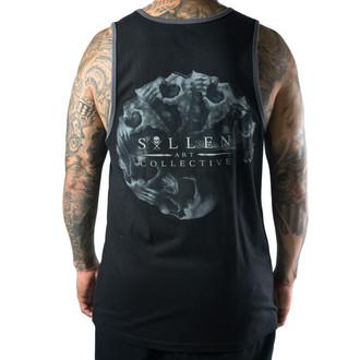 t-shirt uomo SULLEN - morph Skull - Nero/Carbone, SULLEN