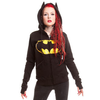 felpa con capuccio donna Batman - BM Revenge - POIZEN INDUSTRIES, POIZEN INDUSTRIES, Batman