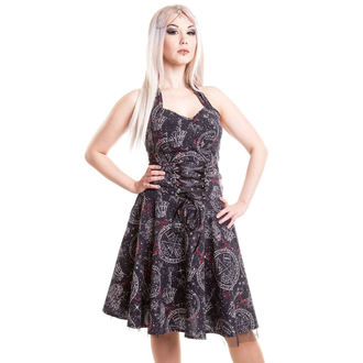 vestito donna POIZEN INDUSTRIES - Buio Galaxy - Nero