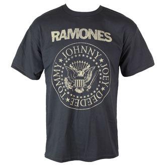 t-shirt metal Ramones - Distress Crest - BRAVADO