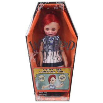 bambola LIVING DEAD DOLLS - Lydia The Lobster Girl, LIVING DEAD DOLLS