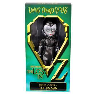 bambola LIVING DEAD DOLLS - Bride Of Valentine As The Di latta Man, LIVING DEAD DOLLS