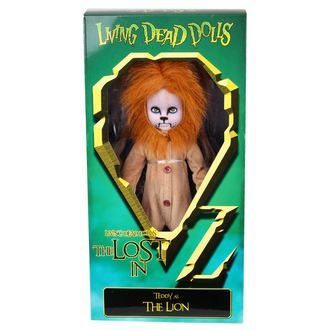 bambola LIVING DEAD DOLLS - Teddy e The Lion, LIVING DEAD DOLLS