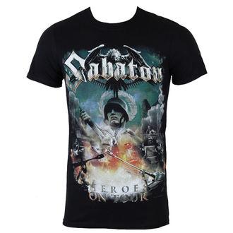 t-shirt metal uomo Sabaton - Heroes on tour - NUCLEAR BLAST, NUCLEAR BLAST, Sabaton