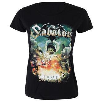 t-shirt metal donna Sabaton - Heroes on tour - NUCLEAR BLAST, NUCLEAR BLAST, Sabaton