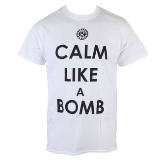 t-shirt metal uomo Rage against the machine - Calm like a bomb - LIVE NATION, LIVE NATION, Rage against the machine