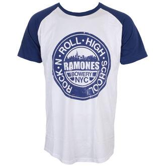 t-shirt metal uomo Ramones - Bowery Nyc - ROCK OFF, ROCK OFF, Ramones