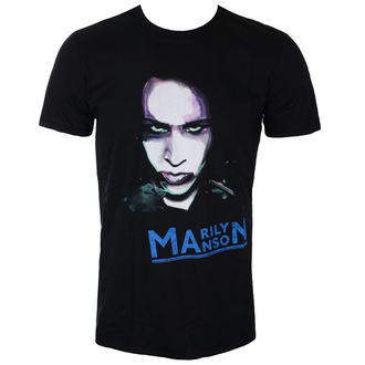 t-shirt metal uomo Marilyn Manson - Oversaturated Photo - ROCK OFF, ROCK OFF, Marilyn Manson