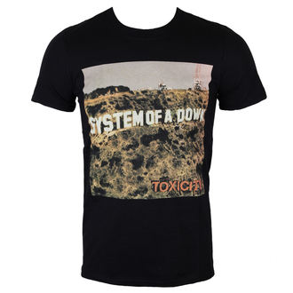 t-shirt metal uomo System of a Down - Toxicity - ROCK OFF - SOADTS06MB