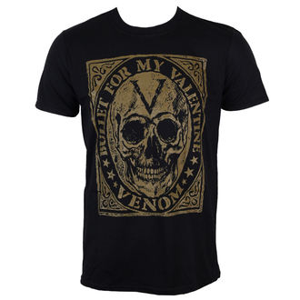 t-shirt metal uomo Bullet For my Valentine - Venom Skull - ROCK OFF, ROCK OFF, Bullet For my Valentine