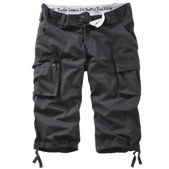 pantaloncini 3/4 uomo SURPLUS - TROOPER LEGEND - BLACK GEWAS, SURPLUS