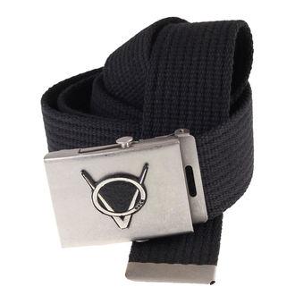 cintura Doga - Nero, BLACK & METAL, Doga