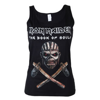 top donna Iron Maiden - Axe - NR - ROCK OFF, ROCK OFF, Iron Maiden