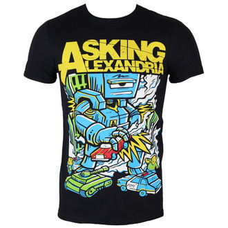 t-shirt metal uomo Asking Alexandria - Killer Robot - ROCK OFF, ROCK OFF, Asking Alexandria