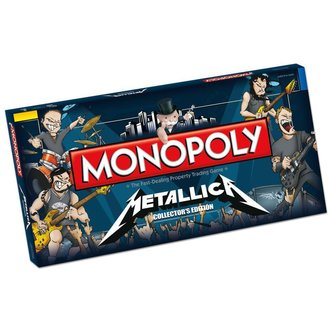 hra Metallica - Rock Band monopolio, NNM, Metallica