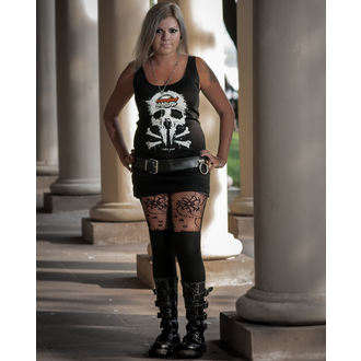 top donna Metalshop - Nero, METALSHOP
