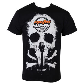t-shirt metal uomo - Black - METALSHOP, METALSHOP