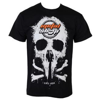 t-shirt metal uomo - Black - METALSHOP - MS015