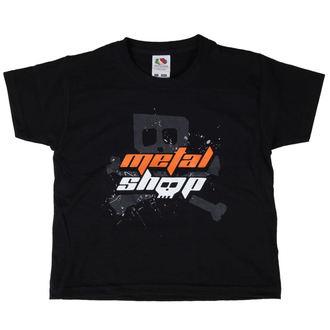 t-shirt metal bambino - Black - METALSHOP, METALSHOP