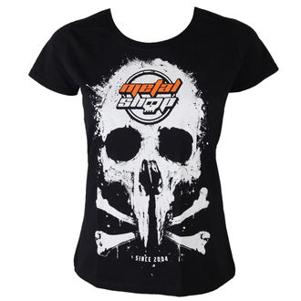 t-shirt metal donna - Black - METALSHOP, METALSHOP