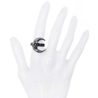 anello RESTYLE - Skull Moon Silver, RESTYLE