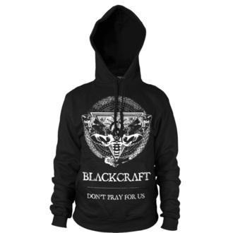 felpa con capuccio uomo - Protection Moth - BLACK CRAFT - HS032PM