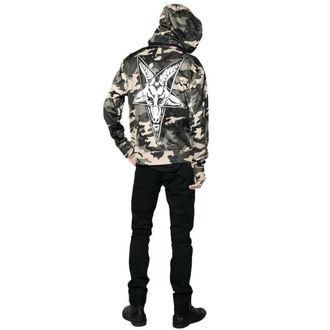 giacca primaverile / autunnale uomo - Baphomet Camo - BLACK CRAFT, BLACK CRAFT
