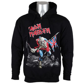 felpa con capuccio uomo Iron Maiden - Scuffed Trooper - ROCK OFF, ROCK OFF, Iron Maiden