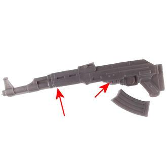 candela Kalashnikov - Grigio - YO008 - DANNEGGIATO