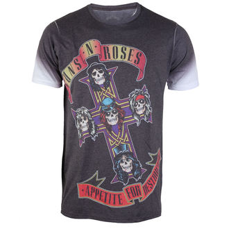 t-shirt metal uomo Guns N' Roses - Appetite - ROCK OFF - GNRTS25MW