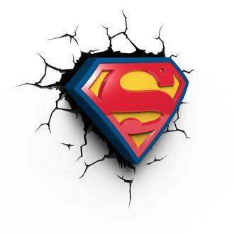 accessori Superuomo - DC Comics 3D LED Light, NNM, Superman