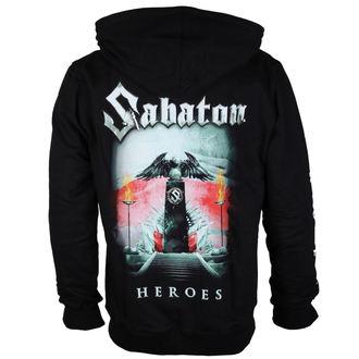 felpa con capuccio uomo Sabaton - Heroes Poland - CARTON, CARTON, Sabaton