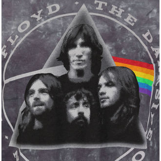 t-shirt metal uomo Pink Floyd - Dark Side Group Tie-Dye - LIQUID BLUE, LIQUID BLUE, Pink Floyd