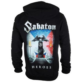 felpa con capuccio uomo Sabaton - Heroes Czech republic - CARTON, CARTON, Sabaton