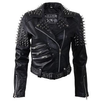 giacca di pelle donna - Spike Leather - KILLSTAR, KILLSTAR