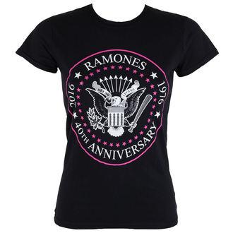 t-shirt metal donna Ramones - 40th Anniversarry - ROCK OFF, ROCK OFF, Ramones