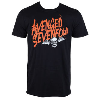 t-shirt metal uomo Avenged Sevenfold - LOGO - ROCK OFF, ROCK OFF, Avenged Sevenfold