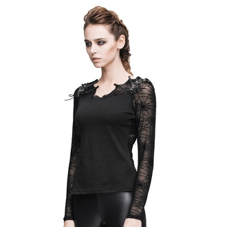 T-shirt gotica e punk donna - Gothic Dusk - DEVIL FASHION, DEVIL FASHION