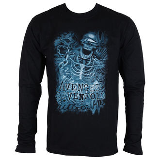 t-shirt metal uomo Avenged Sevenfold - Chained Skeleton - ROCK OFF, ROCK OFF, Avenged Sevenfold