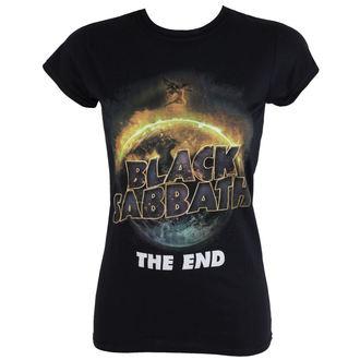 t-shirt metal donna Black Sabbath - The End - ROCK OFF, ROCK OFF, Black Sabbath