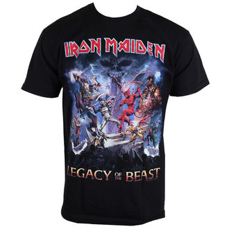 t-shirt metal uomo Iron Maiden - Legacy Of The Beast - ROCK OFF, ROCK OFF, Iron Maiden
