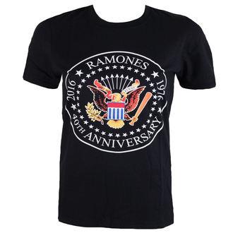 t-shirt metal uomo Ramones - 40th Anniversarry Seal - ROCK OFF, ROCK OFF, Ramones