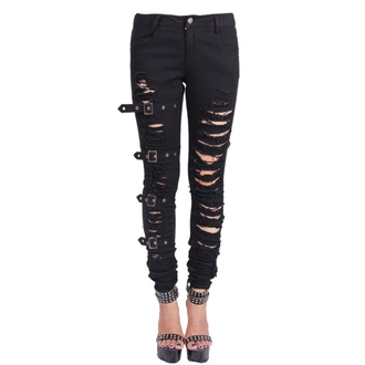 pantaloni donna Devil Moda - Gothic Chaos, DEVIL FASHION