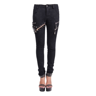 pantaloni donna Devil Moda - Gothic Salem, DEVIL FASHION