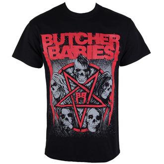 t-shirt metal uomo Butcher Babies - STAR SKULL - RAZAMATAZ, RAZAMATAZ, Butcher Babies