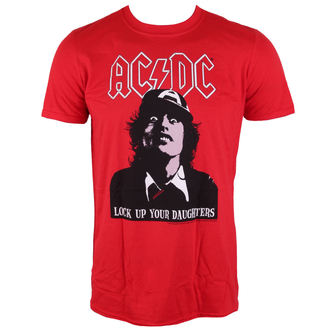 t-shirt metal uomo AC-DC - LOCK UP YOUR DAUGHTERS - LIVE NATION, LIVE NATION, AC-DC